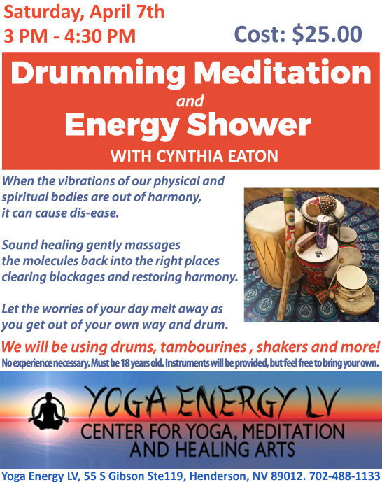 Drumming Meditation & Energy Shower